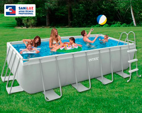 Piscinas de superf cie saniluz apoio t cnico for Piscinas de superficie rectangulares