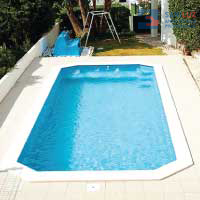 GRE PISCINA C/INST. STD ASTRAL 2,46x5,50