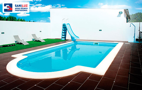 GRE PISCINA C/INST. STD APOLO 4,00x7,90