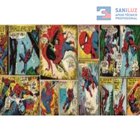 Fotomural Marvel Comic Spiderman K01 435 Saniluz Apoio Tecnico